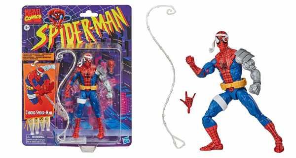Spider-Man Marvel Retro Collection Cyborg Spider-Man 15 cm Actionfigur