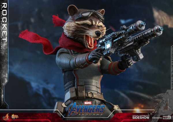 Avengers: Endgame Movie Masterpiece 1/6 Rocket 16 cm Actionfigur
