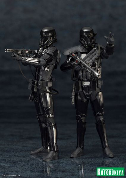 STAR WARS ROGUE ONE DEATH TROOPER ARTFX+ STATUE 2-PACK