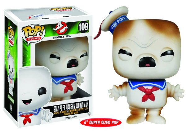 POP GHOSTBUSTERS TOASTED STAY PUFT 15cm VINYL FIGUR