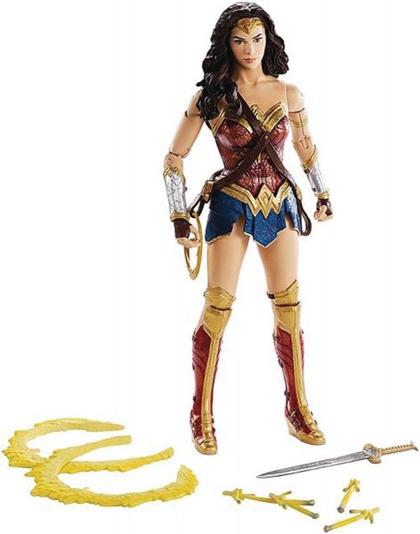 DC MULTIVERSE WONDER WOMAN MOVIE 30cm ACTIONFIGUR
