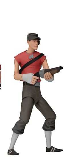 TEAM FORTRESS SERIES 4 RED SCOUT 17,5 cm ACTIONFIGUR
