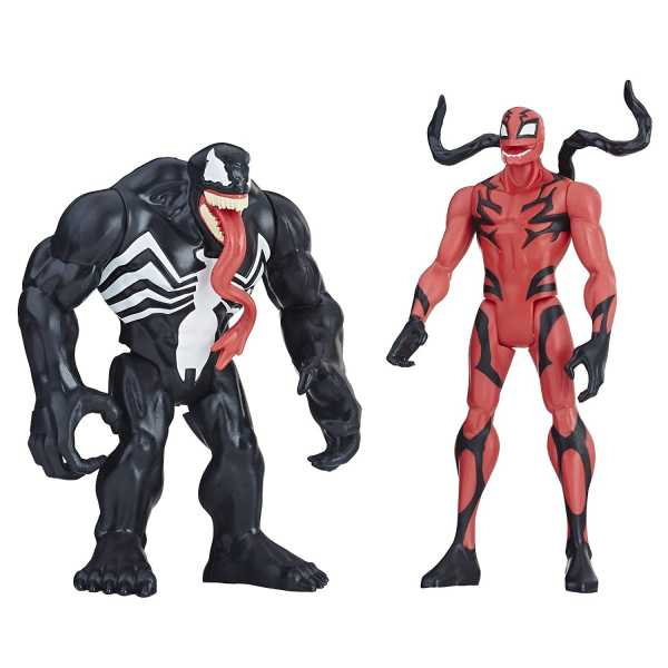 MARVEL VENOM VENOM & CARNAGE 15 cm ACTIONFIGUREN 2-PACK