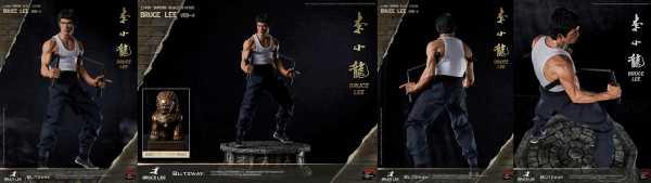 VORBESTELLUNG ! Bruce Lee 1/4 Bruce Lee Tribute Version 4 57 cm Hybrid Type Superb Statue