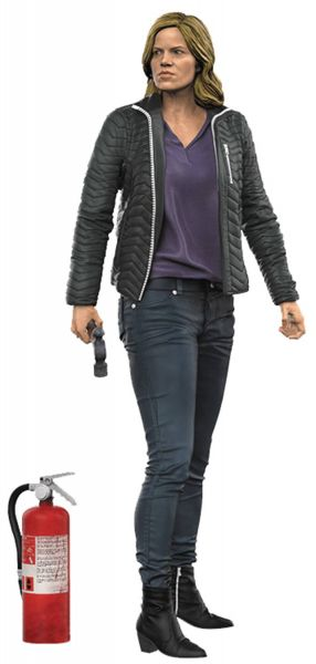 COLOR TOPS RED FEAR THE WALKING DEAD TV MADISON 17,5cm ACTIONFIGUR