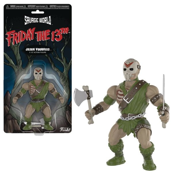 FUNKO SAVAGE WORLD FRIDAY THE 13TH JASON VOORHEES ACTIONFIGUR