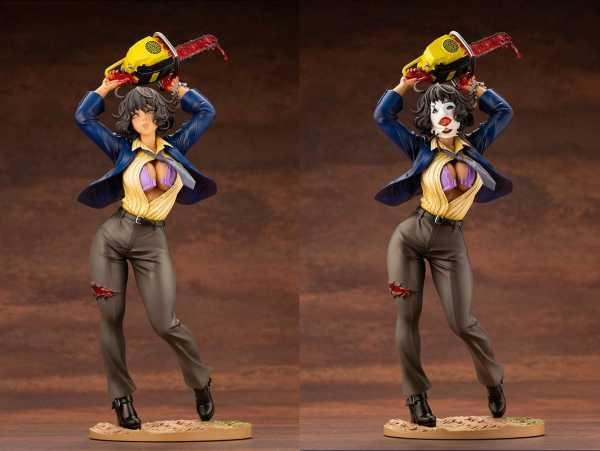 VORBESTELLUNG ! Texas Chainsaw Massacre Bishoujo 1/7 Leatherface 25 cm PVC Statue