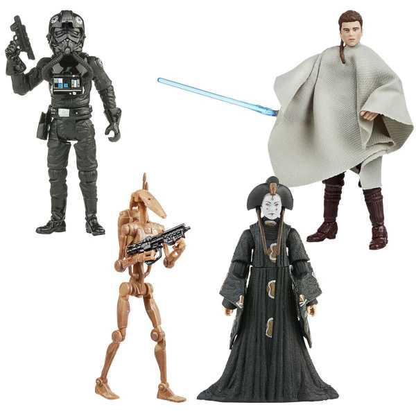 VORBESTELLUNG ! Star Wars The Vintage Collection 2020 Wave 5 3 3/4-Inch Actionfiguren Komplett-Set