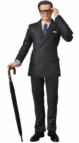 KINGSMAN SECRET SERVICE HARRY GALAHAD HART MAFEX ACTIONFIGUR