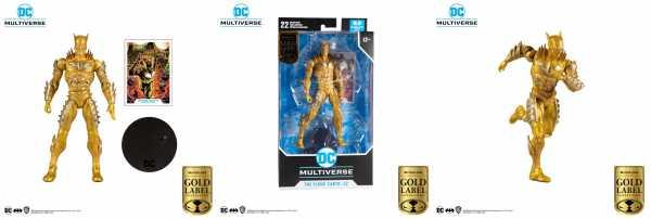 VORBESTELLUNG ! DC Multiverse Actionfigur Red Death Gold Earth 52 Gold Label Serie 18 cm Actionfigur