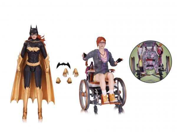BATMAN ARKHAM KNIGHT BATGIRL ORACLE ACTIONFIGUREN 2 PACK