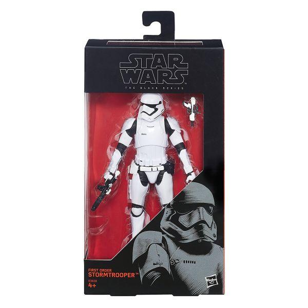 Star Wars Black Series First Order Stormtrooper Actionfigur defekte Verpackung