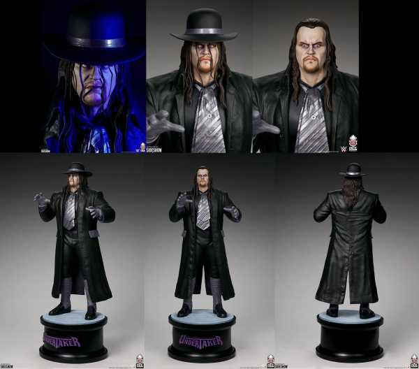 AUF ANFRAGE ! WWE 1/4 The Undertaker 66 cm Statue