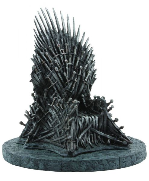 GAME OF THRONES IRON THRONE STATUE