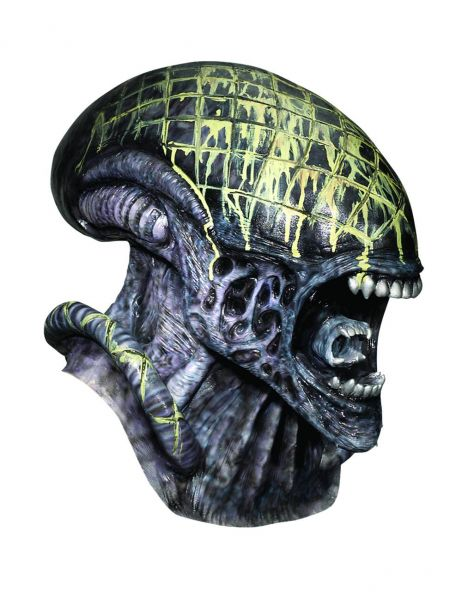 ALIEN FULL OVERHEAD DELUXE LATEX MASKE