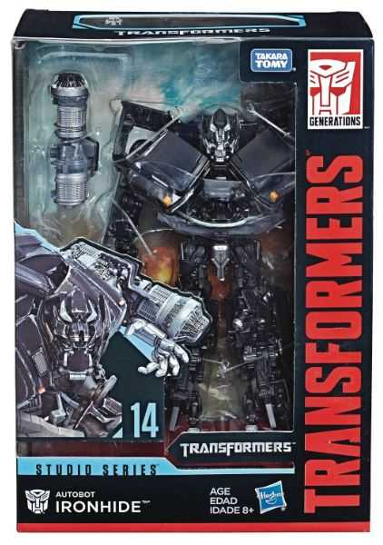 TRANSFORMERS GENERATIONS STUDIO SERIES VOYAGER CLASS IRONHIDE ACTIONFIGUR