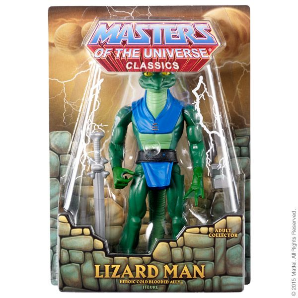 Masters of the Universe® Lizard Man ACTIONFIGUR