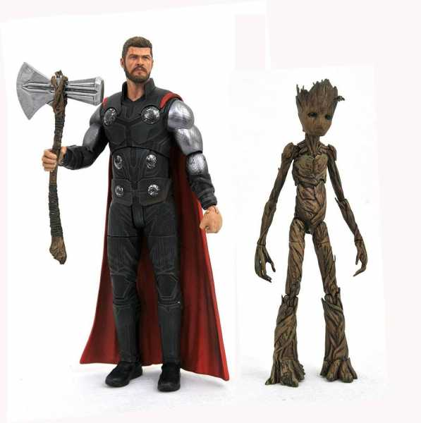 MARVEL SELECT AVENGERS 3 THOR ACTIONFIGUR
