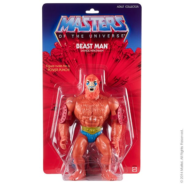 Masters of the Universe® Giant Beast Man ACTIONFIGUR