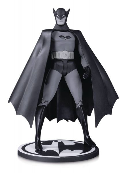 BATMAN BLACK AND WHITE ACTIONFIGUR 1ST APPEARANCE BOB KANE