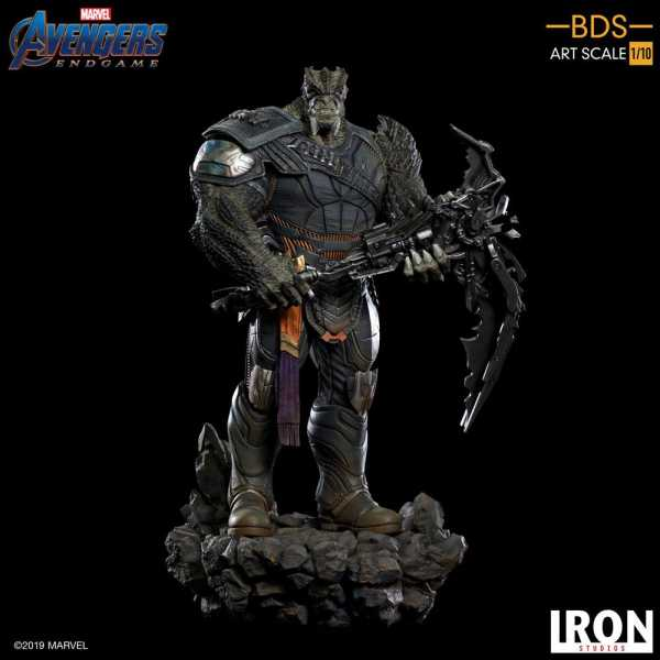 VORBESTELLUNG ! Avengers: Endgame BDS Art Scale 1/10 Cull Obsidian Black Order 36 cm Statue