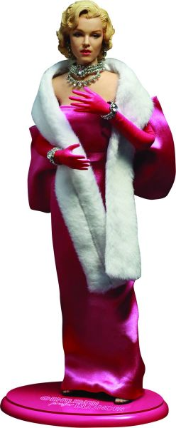 GENTLEMEN PREFER BLONDES MARILYN MONROE 1/6 ACTIONFIGUR LORELEI PINK DRESS VERSION