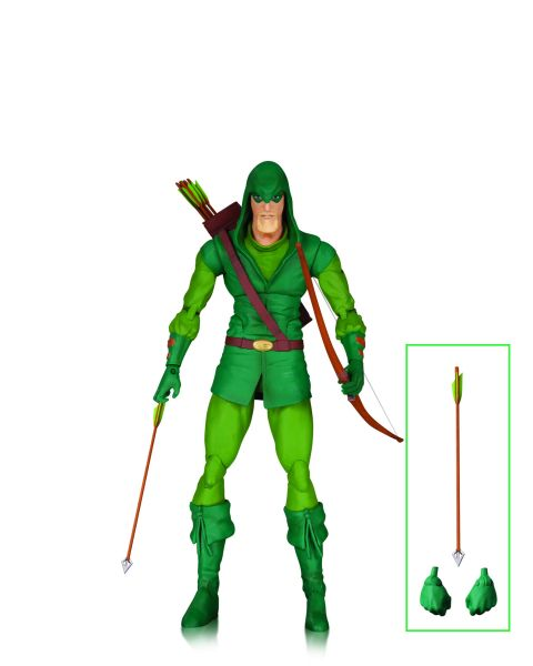 DC ICONS GREEN ARROW LONGBOW HUNTERS ACTIONFIGUR
