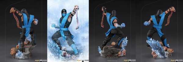 VORBESTELLUNG ! Mortal Kombat 1/10 Sub-Zero 23 cm Art Scale Statue