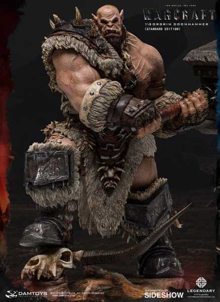 VORBESTELLUNG ! Warcraft: The Beginning Statue 1/9 Orgrim Standard Version 27 cm