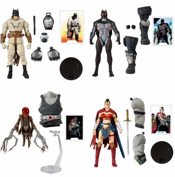 VORBESTELLUNG ! DC Multiverse Build A Bane 18 cm Actionfiguren Komplett-Set