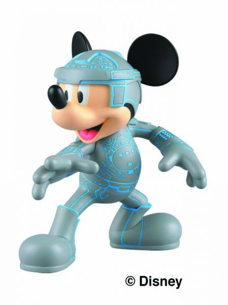 DISNEY MICKEY TRON ULTRA DETAIL FIGURE 8cm FIGUR