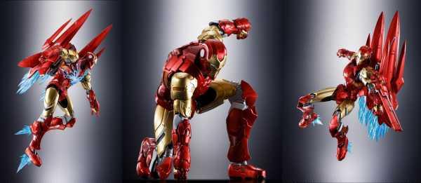 VORBESTELLUNG ! Tech-On Avengers S.H. Figuarts Iron Man 16 cm Actionfigur