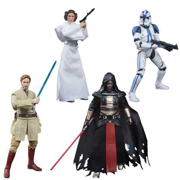 VORBESTELLUNG ! Star Wars The Black Series Archive Wave 3 Actionfiguren Komplett-Set