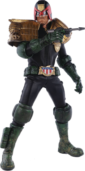 2000 AD X THREE A JUDGE DREDD 1/6 SCALE ACTIONFIGUR