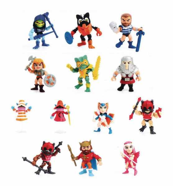 TLS X MOTU MINI FIGUREN 12ER PACK WAVE 2