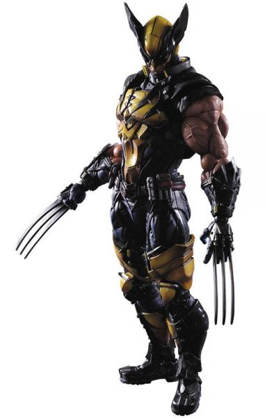 MARVEL UNIVERSE VARIANT PLAY ARTS KAI WOLVERINE ACTIONFIGUR
