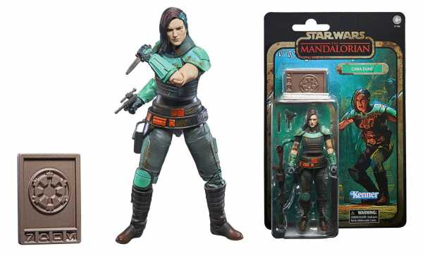 VORBESTELLUNG ! Star Wars The Mandalorian Credit Collection 2020 Cara Dune 15 cm Actionfigur