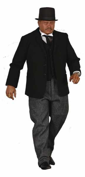 JAMES BOND GOLDFINGER ODDJOB 1/6 SCALE LIMITED COLLECTOR EDITION ACTIONFIGUR - Beschädigte Verpackun