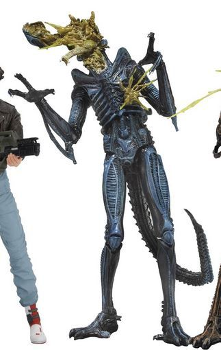 ALIENS SERIES 12 BATTLE-DAMAGED ALIEN 1 17,5 cm ACTIONFIGUR