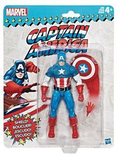 MARVEL SUPER HEROES VINTAGE 15 cm CAPTAIN AMERICA ACTIONFIGUR