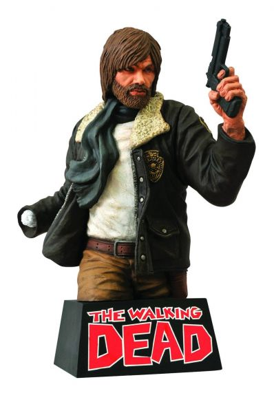 THE WALKING DEAD RICK GRIMES 20CM BUST BANK SPARDOSE BÜSTE