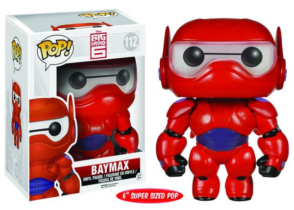 POP BIG HERO 6 BAYMAX 15 cm VINYL FIGUR defekte Verpackung