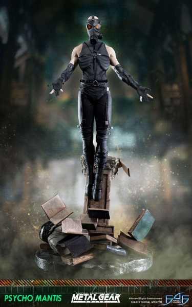 VORBESTELLUNG ! Metal Gear Solid Psycho Mantis 66 cm Statue