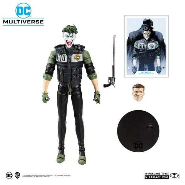 VORBESTELLUNG ! DC Multiverse White Knight Joker 18 cm Actionfigur