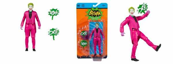 VORBESTELLUNG ! DC Retro Batman 66 Joker 15 cm Actionfigur