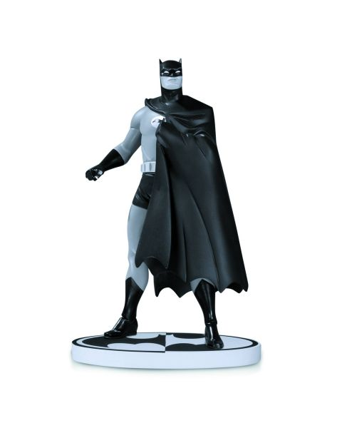 BATMAN BLACK AND WHITE STATUE BY DARWYN COOKE 2ND EDITION