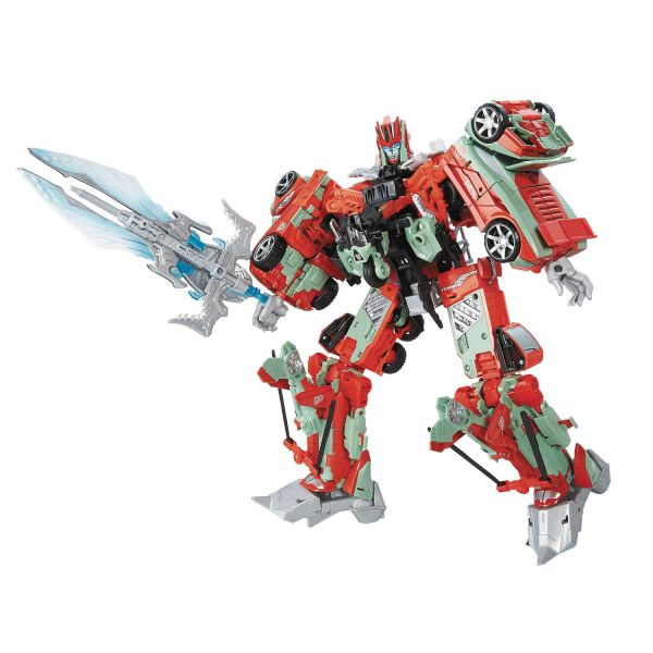 TRANSFORMERS GENERATIONS FAN-BUILT COMBINER VICTORION ACTIONFIGUREN-SET
