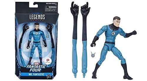 MARVEL LEGENDS FANTASTIC FOUR MR. FANTASTIC EXCLUSIVE ACTIONFIGUR