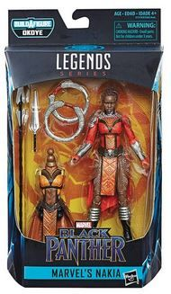 BLACK PANTHER LEGENDS 15 cm NAKIA ACTIONFIGUR