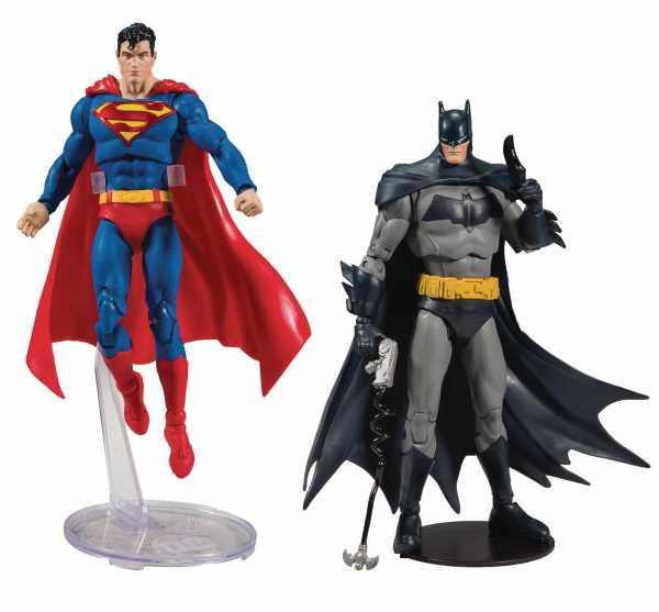 VORBESTELLUNG ! DC BATMAN / SUPERMAN 7 INCH ACTIONFIGUREN WAVE 1 KOMPLETT-SET